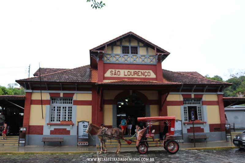 Estação de São Lourenço - MG